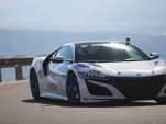 Acura NSX at the 2016 Pikes Peak International Hill Climb