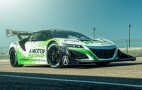 Acura reveals electric NSX for 2016 Pikes Peak Hill Climb