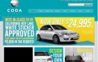2012 Coda Sedan Electric Car Price Slashed to $25,000