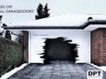 Ad for Dansk Port Teknik garage doors by JWT agency