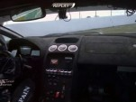 Adrian Newey Warm-Up Lap Crash In-Car