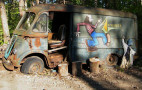 Aerosmith's original '64 touring van found in East Coast woods
