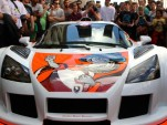 Aleksy Marcinow's tattooed Gumpert Apollo on the 2014 Gumball Rally