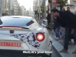 Alfa Romeo 4C on the streets of Madrid, Spain