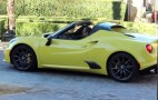 Alfa Romeo 4C Spider Spied Completely Undisguised: Video