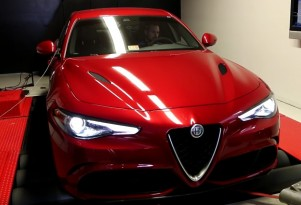 Alfa Romeo Giulia Quadrifoglio hits the dyno