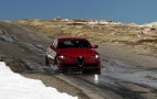 Climbing to the top in a 2017 Alfa Romeo Giulia Quadrifoglio