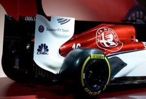 Alfa Romeo Sauber F1 team's 2018 livery