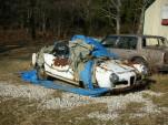 Alfa Romeo Giulietta Spider found in a yard in Southern Indiana, 2006