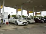 All-white Aston Martin One-77