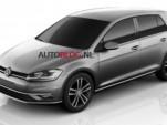 Alleged image of the 2018 Volkswagen Golf - Image via Autoblog.nl