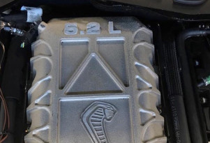 Alleged photo of 2019 Ford Mustang Shelby GT500's supercharged engine - Image via Mustang6G forum