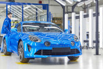 Alpine A110 enters production at historic Dieppe plant