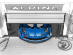 Alpine A110 track car sketch teaser