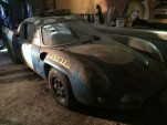 Alpine A210 Le Mans prototype in French shed