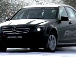 AMG Winter Driving Academy in Sweden