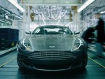 An Aston rolling off the line at the Gaydon plant