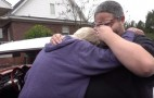 Angry Grandpa turns soft when he's surprised with his dream car
