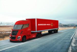 Budweiser-maker taps Nikola for up to 800 hydrogen-powered semi trucks