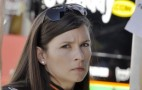 Danica Patrick Takes Katie Couric For A Ride At Indy