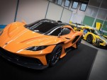 Apollo Arrow concept and SCG003C race car