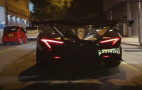 Watch an Apollo Intensa Emozione do burnouts on the streets of Hong Kong