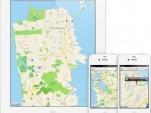 Apple Maps app - image courtesy of Apple