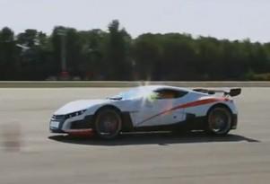 Applus Idiada Volar-e electric race car