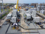 APR Energy's GE TM2500 Gen 8 mobile gas turbines in Puerto Rico