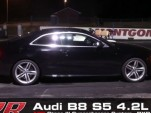 APR Tuned Audi S5 goes under 12 seconds in the quarter
