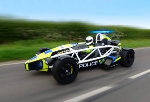 Ariel Atom police car