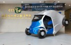 Armadillo Electric Car: Fold It, Park It With A Smartphone