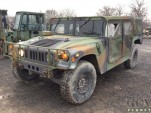 Army surplus Humvee - Image via GovPlanet