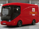 UK Royal Mail electric vans now entering service