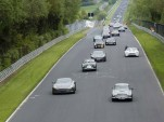 Aston Martin centenary drive at the Nürburgring