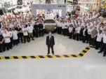 Aston Martin DB11 production starts in Gaydon, United Kingdom - September 2016