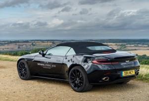 2018 Aston Martin DB11 Volante teaser