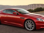 Aston Martin DBS in red