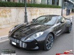 Aston Martin One-77 spotted on the streets of Monaco