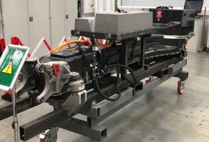 Aston Martin Rapide E battery development