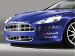 Aston Martin Rapide Nurburgring 24 Hours race car