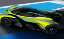 Aston Martin Valkyrie AMR Pro teaser sketch