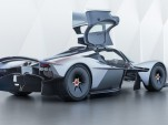 Aston Martin Valkyrie in near-production form