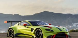 Aston Martin Vantage GTE race car