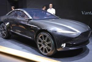 All-Electric Aston Martin DBX Crossover Concept: Geneva Surprise