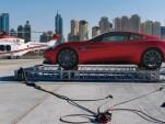 Aston Martin's centenary celebration in Dubai