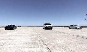 "Atieva electric van ""Edna"" drag races Tesla Model S and Ferrari California T"