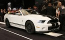 Auction of last 2014 Ford Mustang Shelby GT500 Convertible