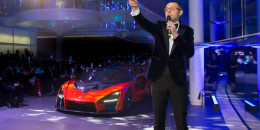 Auction of the final build slot for the McLaren Senna
