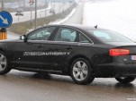 Audi A6 Hybrid spy shots